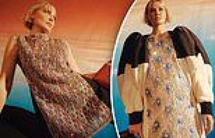 Lara Bingle stuns in a series of Louis Vuitton outfits as she poses for Vogue ...
