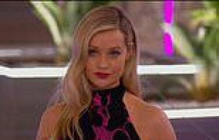 Laura Whitmore hosts Love Island for the first time in a MONTH