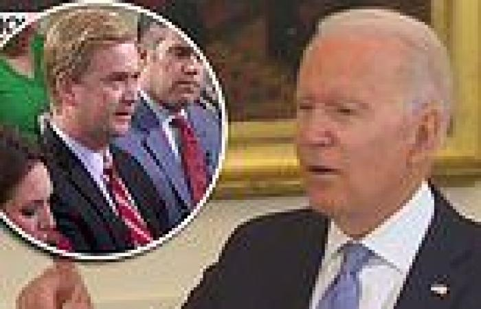 Biden snaps at reporter who reminded of prior statement that vaccinated people ...