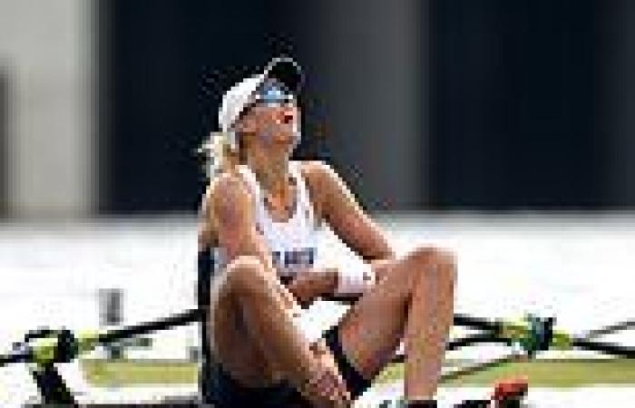 sport news Tokyo Olympics: Vicky Thornley misses out on a bronze medal in the women's ...