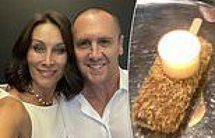 Larry Emdur makes Golden Gaytime ice-cream 'cake' for wife Sylvie on her ...