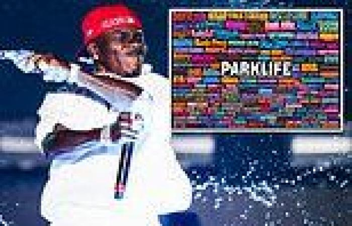 DaBaby's name is DELETED from Manchester's Parklife Festival lineup poster
