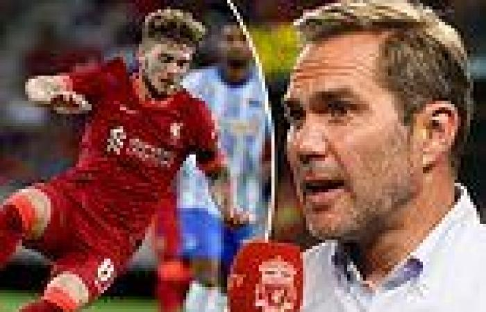 sport news Liverpool's Harvey Elliott compared to Barcelona's Xavi and Andres Iniesta by ...