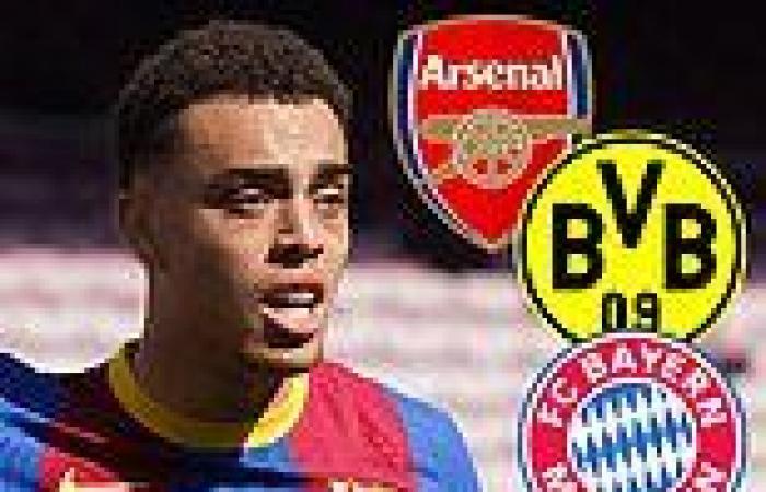 sport news Barcelona full-back Sergino Dest 'turns down Arsenal, Bayern Munich and ...