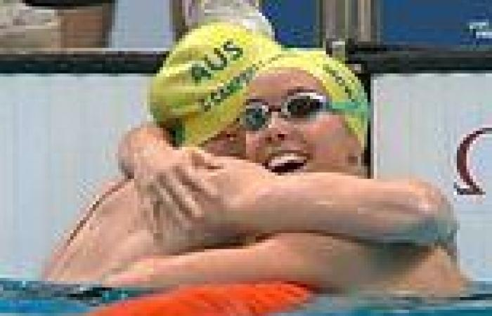 Australia's Emma McKeon wins GOLD and Cate Campbell bronze in 100m freestyle at ...