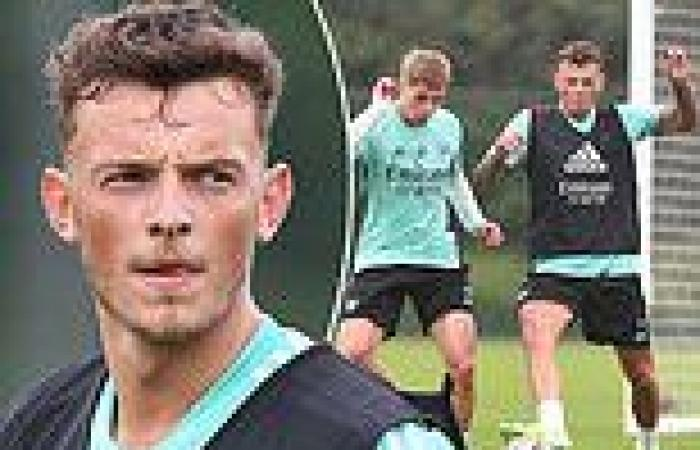 sport news Ben White trains with Arsenal for the first time following £50 million move ...