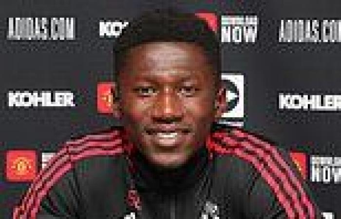 sport news Manchester United starlet Di'Shon Bernard signs 'long-term deal' with the club