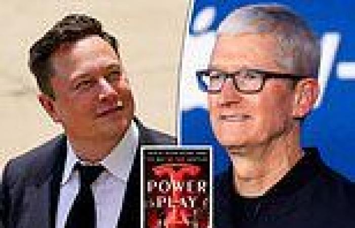 Tim Cook said 'F**k you' to Elon Musk after Tesla boss said he wanted to be CEO ...