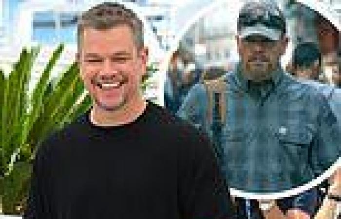 Matt Damon was 'overwhelmed' with emotion to return to movie theaters for the ...
