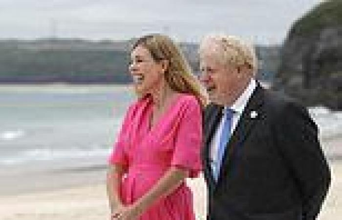 Has anyone had a start to family life as dramatic as Carrie Symonds and Boris ...
