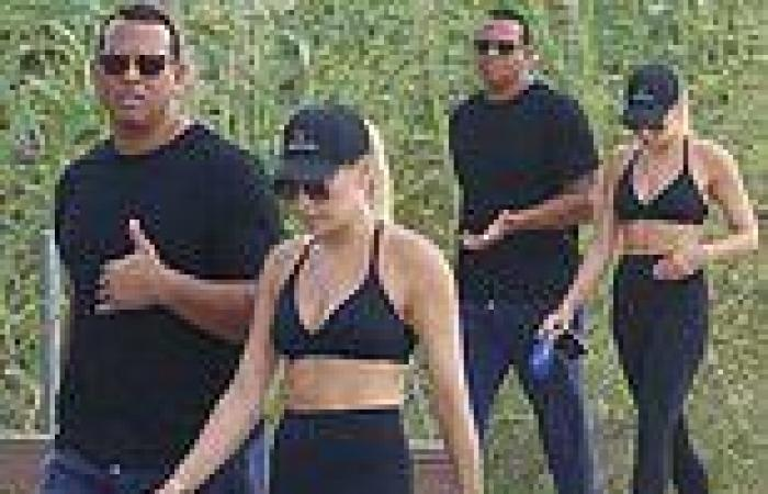 Alex Rodriguez spotted with his rumored new girlfriend Melanie Collins as they ...