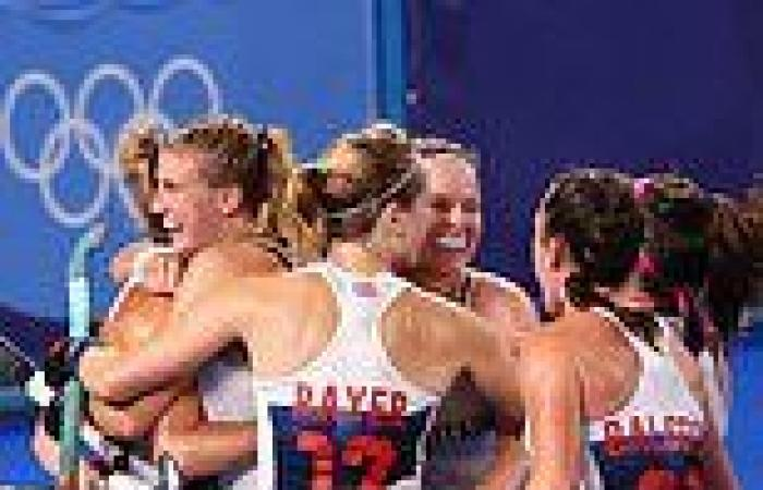 sport news Going for gold...again! GB Women's hockey team progress through to the ...
