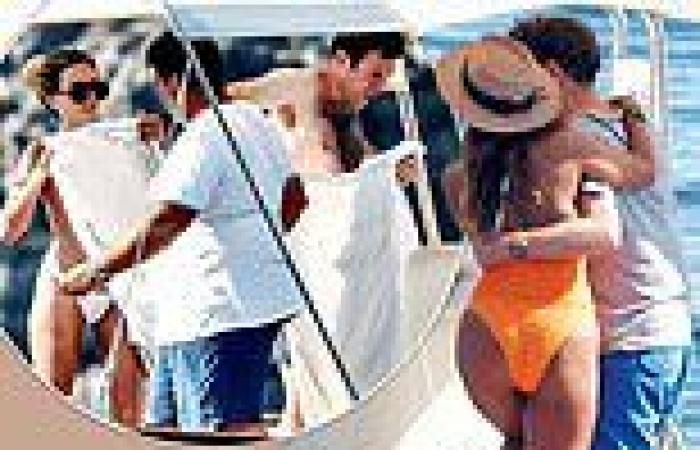 Jack Brooksbank pictured in Capri with glamorous women as Princess Eugenie ...