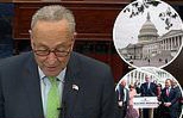 Sleepy Saturday session in Senate: Bipartisan group finalizing $1.2 trillion ...