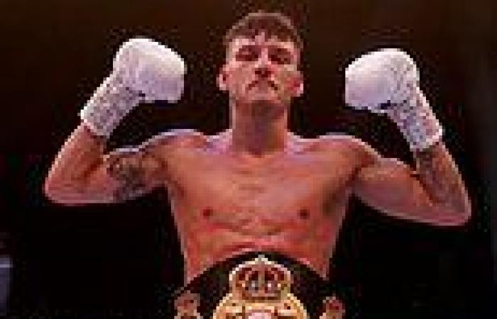 sport news Leigh Wood claims WBA featherweight world title as Eddie Hearn gets Matchroom's ...