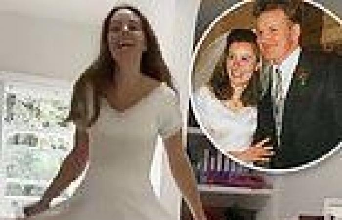Tana Ramsay looks stunning in her wedding dress - a quarter of a century after ...