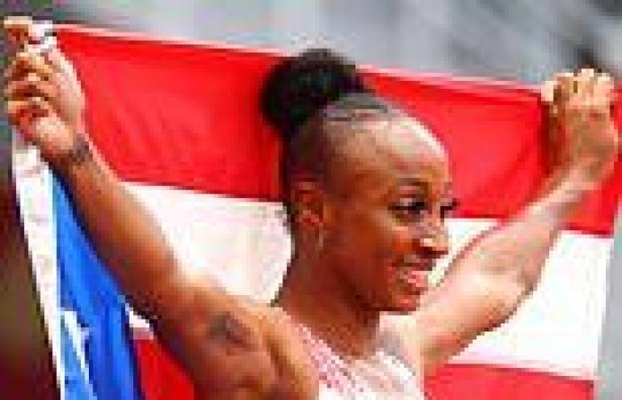 sport news Tokyo Olympics: Puerto Rico sprinter Jasmine Camacho-Quinn takes the gold medal ...