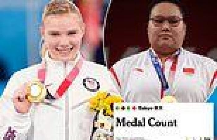sport news Tokyo Olympics: Fans label US media 'misleading' for ranking medals table by ...