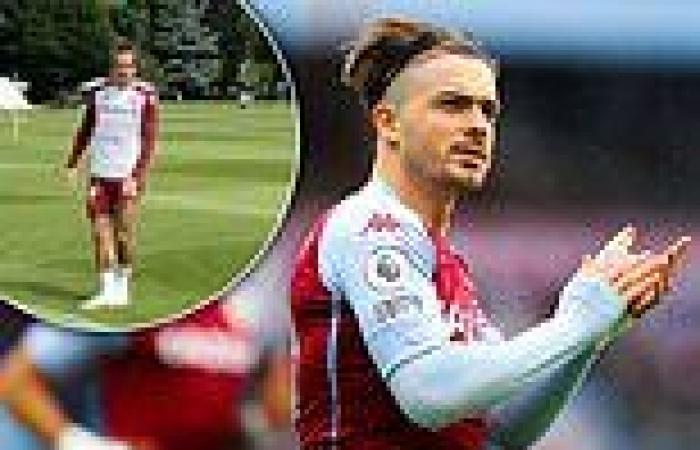 sport news Jack Grealish returns to Aston Villa training amid Manchester City's £100m ...