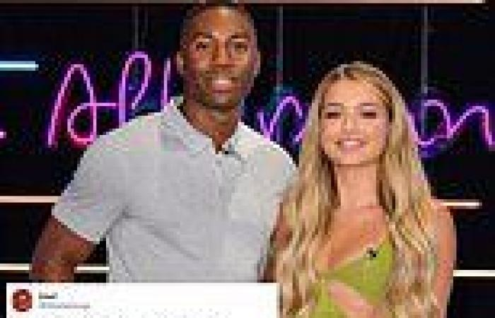 Aaron and Lucinda reveal they're 'just friends' on Aftersun following her and ...