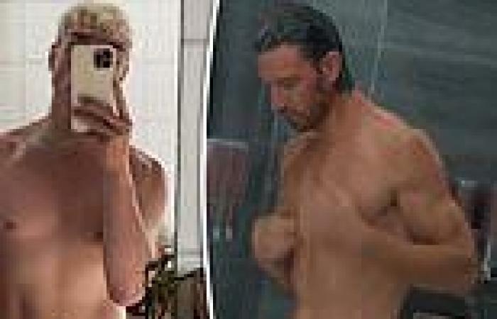 Sex/Life fan? Jack Vidgen appears to recreate THAT shower scene made famous ...