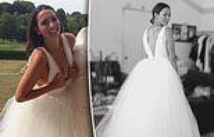 Ricki-Lee Coulter: Row with bridal designer over who made her 2015 wedding dress