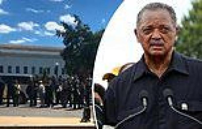 Civil rights leader Rev. Jesse Jackson among 204 arrested at Poor People's ...