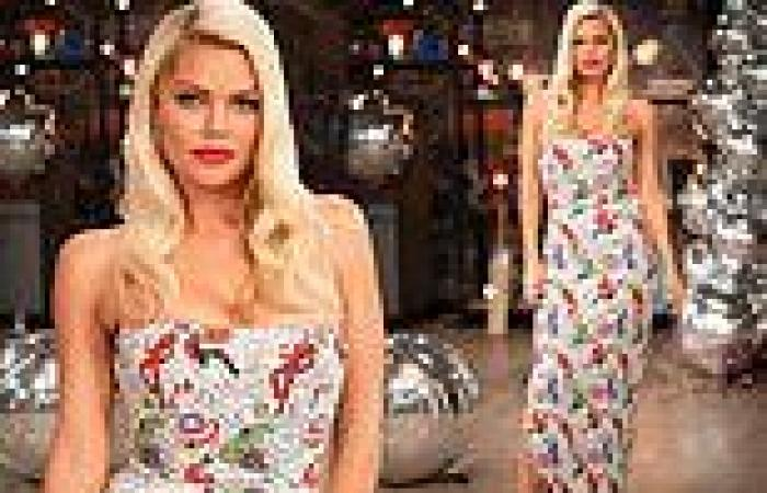 Beauty and the Geek: Sophie Monk wears an Avengers-themed gown for the finale