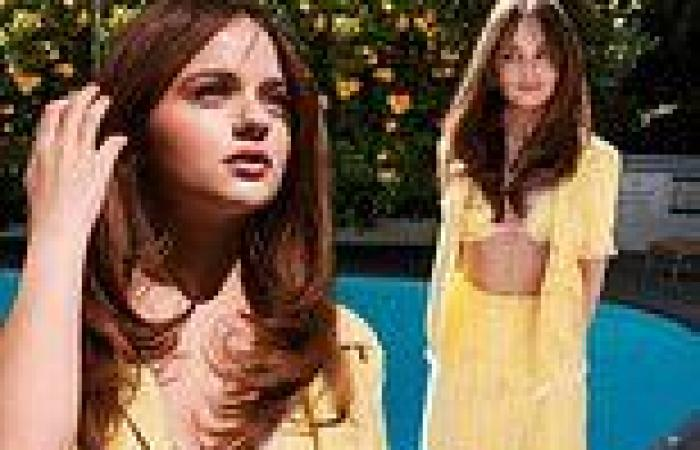 Joey King strips down for bikini spread and reveals she started therapy for the ...