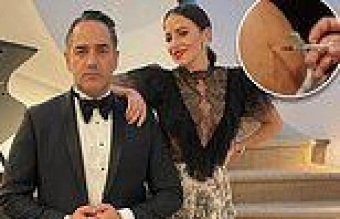Wippa's wife Lisa reveals she's booked in her AstraZeneca jab
