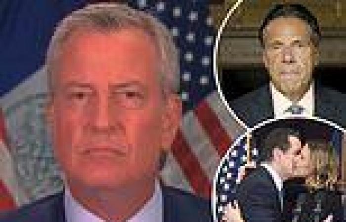 Mayor De Blasio SLAMS Gov. Cuomo's 'laughable' statement denying his sexual ...