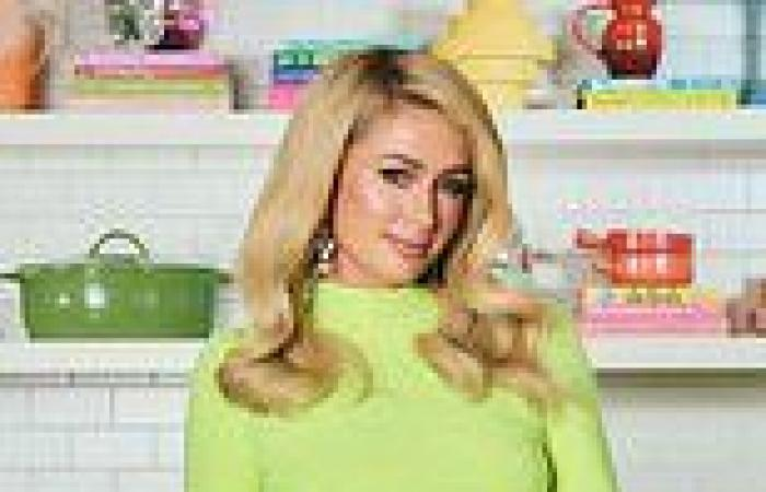 Paris Hilton reveals name of future daughter and chats Netflix cooking show