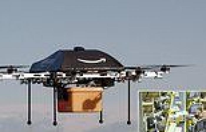Amazon workers in the U.K. say the company's drone delivery system 'will never ...