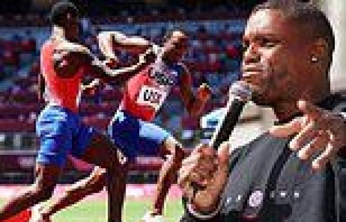 American track legend Carl Lewis SLAMS Team USA's failure to reach the 4X100 ...