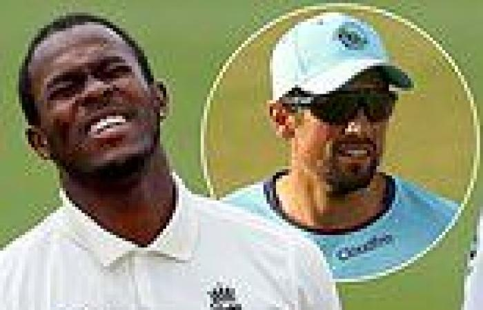 sport news Alastair Cook says Jofra Archer's elbow problem is a 'game-changer' for the ...