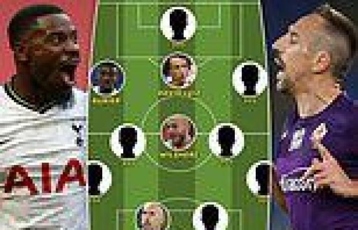 sport news Sportsmail's best XI of players now available as free agents