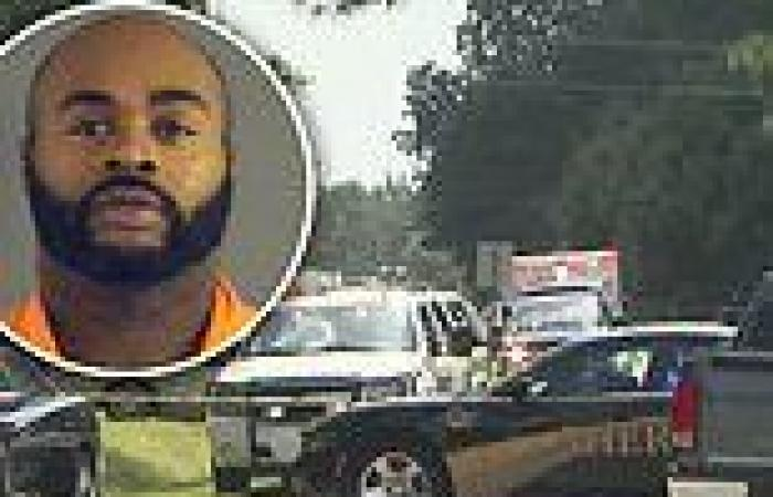 Cops hunt man, 43, after two people are shot dead and two more are injured in ...