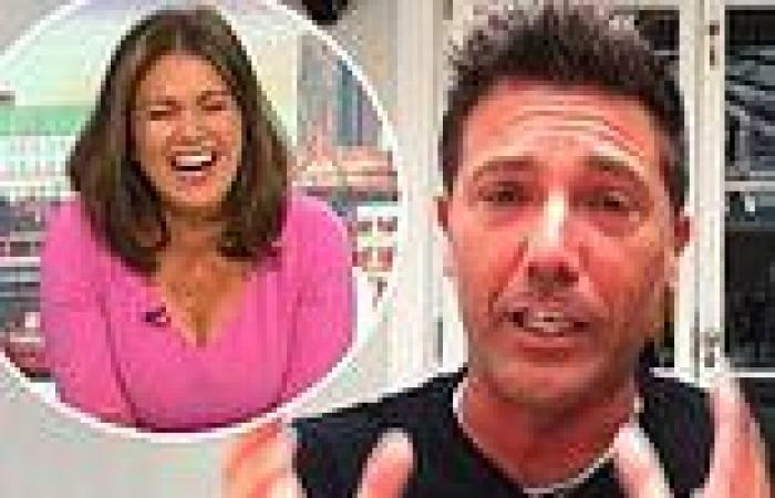 Gino D'Acampo tells Susanna Reid one of his sons has a crush on her during GMB ...