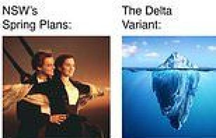 Coronavirus Australia: NSW Police meme about Delta variant divides the internet