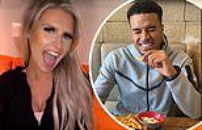 Love Island's Chloe Burrows and Toby Aromolaran reunite for the first time ...
