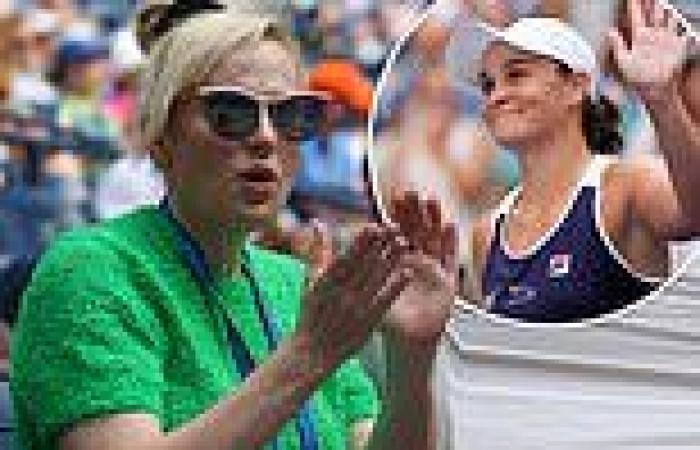 Slimmed-down Rebel Wilson cheers on Australian tennis star Ash Barty at The US ...