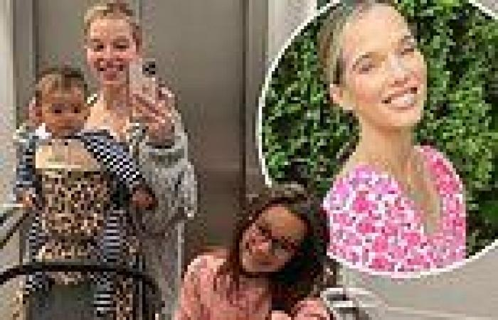 Helen Flanagan shares cute family snaps from London trip with son Charlie and ...