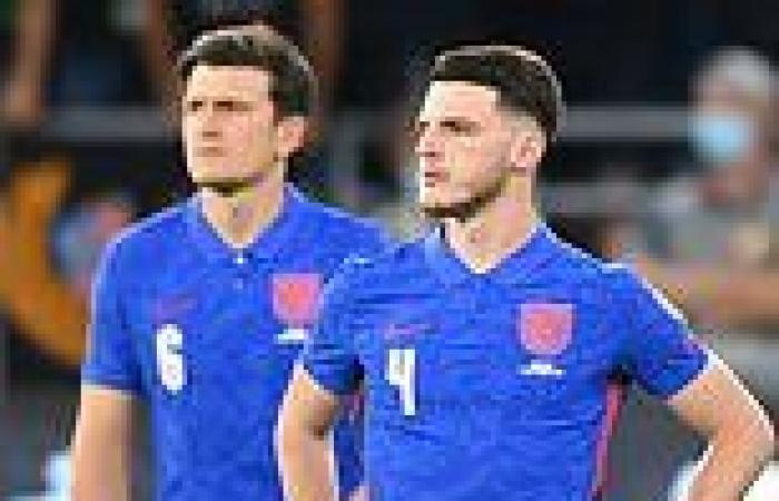 sport news England players heavily booed for taking a knee before World Cup qualifier with ...