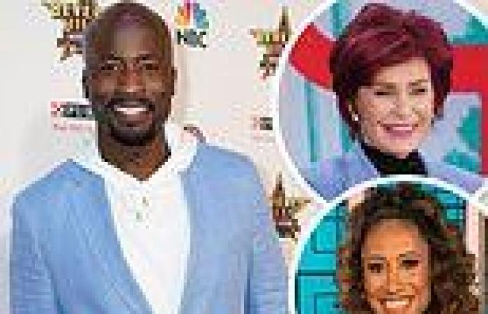 Akbar Gbajabiamila joins The Talk after Elaine Welteroth and Sharon Osbourne's ...