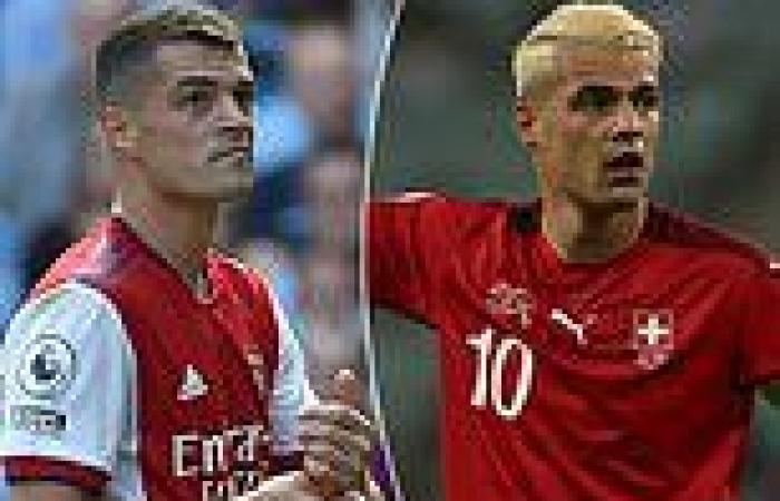 sport news Arsenal star Granit Xhaka has TURNED DOWN his Covid vaccine, the Swiss FA ...