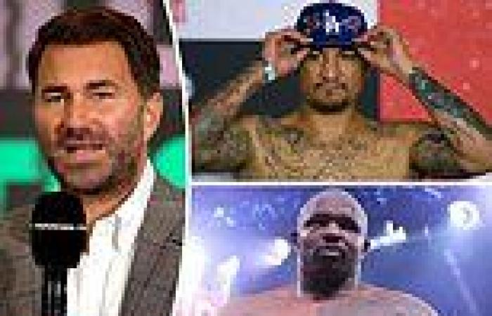 sport news Eddie Hearn reveals American heavyweight Chris Arreola is the 'frontrunner' to ...