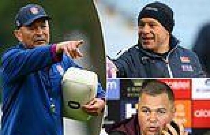 sport news England: Eddie Jones adds Richard Cockerill and Antony Seibold to his coaching ...