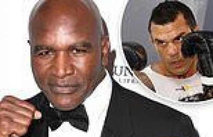 sport news Evander Holyfield ready to faceVitor Belfort after Oscar De La Hoya tests ...