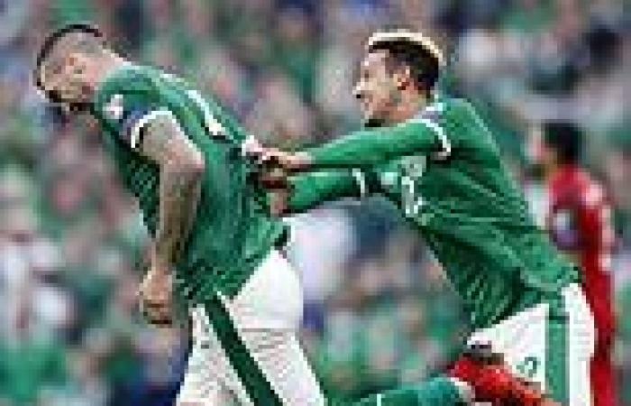 sport news Ireland 1-1 Azerbaijan: Shane Duffy's late header saves a point for Stephen ...