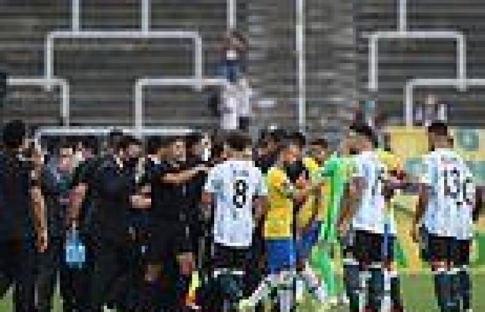 sport news Covid chaos in Brazil as health authorities DETAIN Premier League quartet